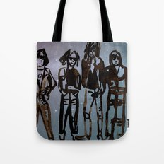Cosmic Rock and Roll Tote Bag