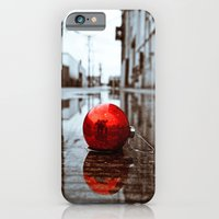 iPhone & iPod Case featuring South Tacoma Christmas by Vorona Photography