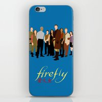 Firefly/serenity crew iPhone & iPod Skin