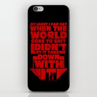 Dale's Morality iPhone & iPod Skin