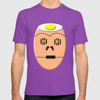 Eggy 3PO Mens Fitted Tee Ultraviolet SMALL