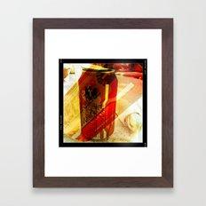Tecate Beer Framed Art Print
