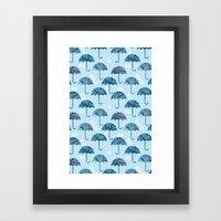 rain #1 Framed Art Print