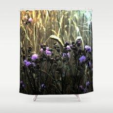 Hidden Fields Shower Curtain
