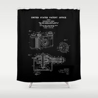 Camera Patent 1938 - Black Shower Curtain