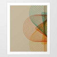 Cones Art Print