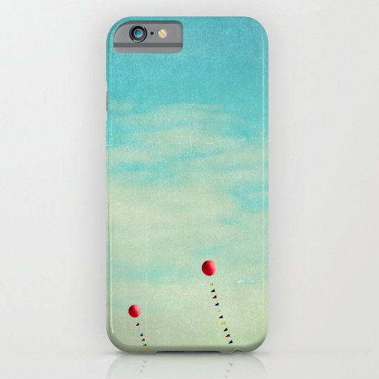 three red balloons II iPhone & iPod Case