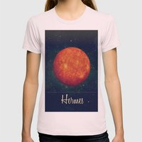 Hermes / Mercure Womens Fitted Tee Light Pink SMALL