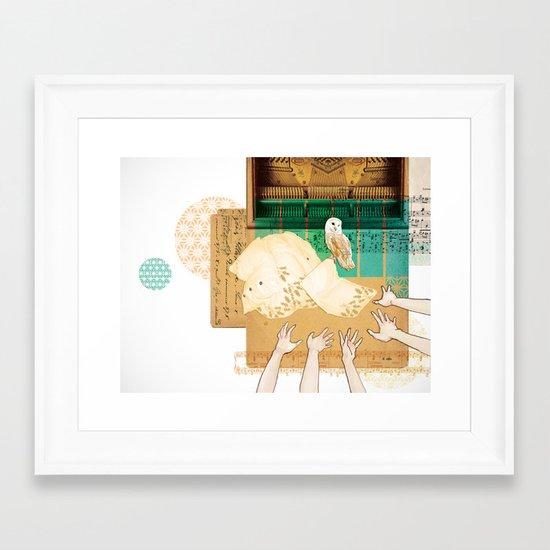 Larks & Owls Framed Art Print