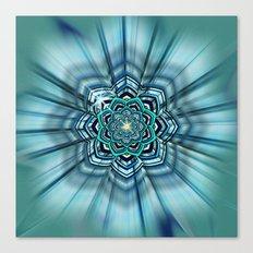 Lotus Mandala Canvas Print