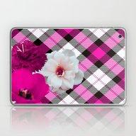 Laptop & iPad Skin featuring Plaid+, Pink by MehrFarbeimLeben