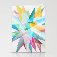Colorful 4 Stationery Cards