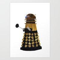 Dalek (Collage) Art Print