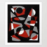 Abstract #121 Art Print