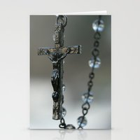 Rosary Stationery Cards