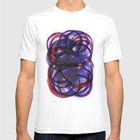 Intertwined Mens Fitted Tee White SMALL