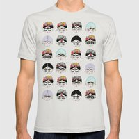 las fridas Mens Fitted Tee Silver SMALL