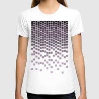 pixel T-shirts featuring Pixel Rain by Picomodi