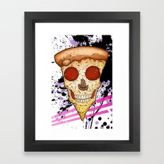 Skull Slice Framed Art Print