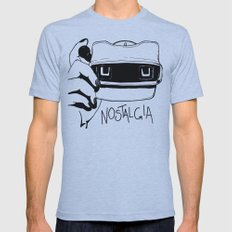 Nostalgia Mens Fitted Tee Athletic Blue SMALL