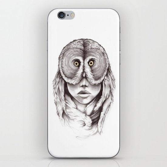 Owlhead iPhone & iPod Skin