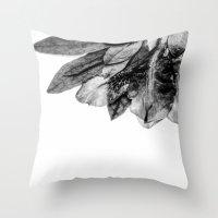 The Blackfish Camouflage Throw Pillow