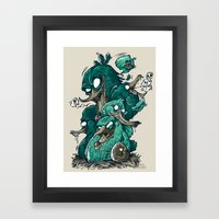Birds of a Feather Framed Art Print