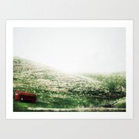 Over The River And Throu… Art Print