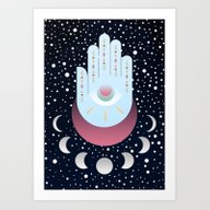 Art Print featuring Delving Into Magic by Moremo