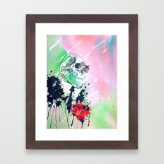 Hopeless Romantic Framed Art Print