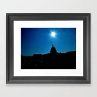 Capitol Sky Framed Art Print