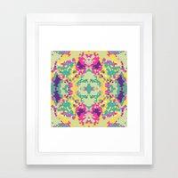 Crystal Round IV Framed Art Print