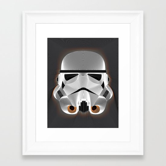 Stripestrooper Framed Art Print
