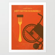 Art Print featuring No536 My Dirty Rotten Sc… by Chungkong