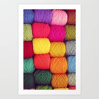 Wool - For Iphone Art Print