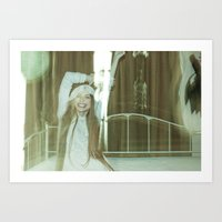 the unbearable tunnel of light and happiness Art Print