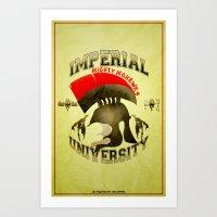 Imperial University(Skyr… Art Print