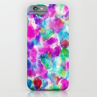 iPhone & iPod Case featuring Amaris Magenta by Amy Sia
