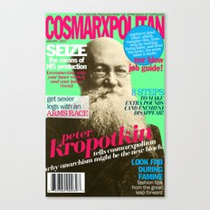 COSMARXPOLITAN, Issue 6 Canvas Print