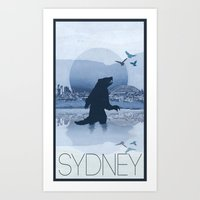 Every City Has Its Creature - Sydney Art Print