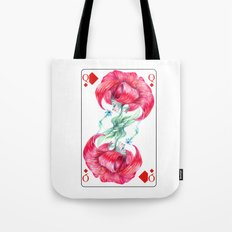 Lys Queen Card Tote Bag