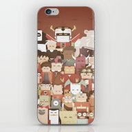 The Nick Yorkers Family … iPhone & iPod Skin