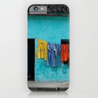 iPhone & iPod Case featuring Out to dry in rural Bahia by Yield Media