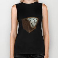 Melting Clock Biker Tank