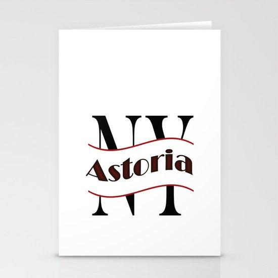 Astoria Stationery Card