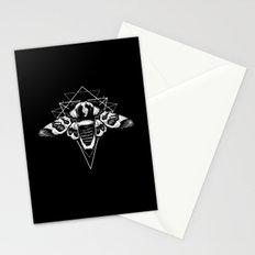 Geometric Moth 2 Stationery Cards