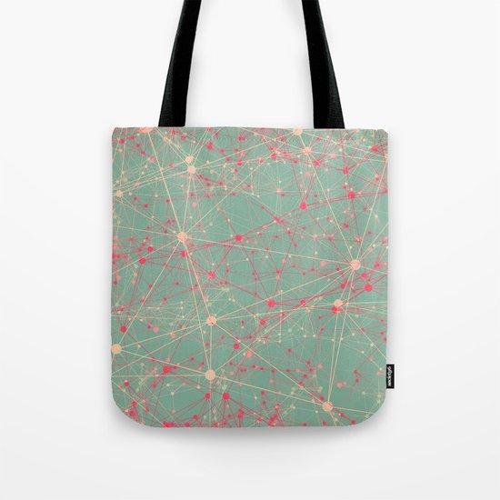 LINK abstract I Tote Bag