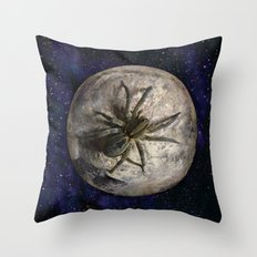 Spider Space Throw Pillow