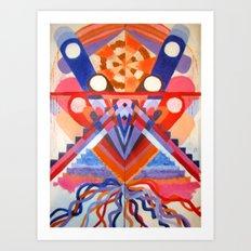 Decieving Art Print