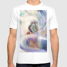 Pray Mens Fitted Tee SMALL White